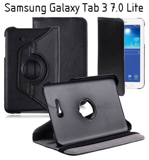 vrtljivi ovitek etui za ita za samsung galaxy tab 3 7 0 lite rni mobiterra. Black Bedroom Furniture Sets. Home Design Ideas